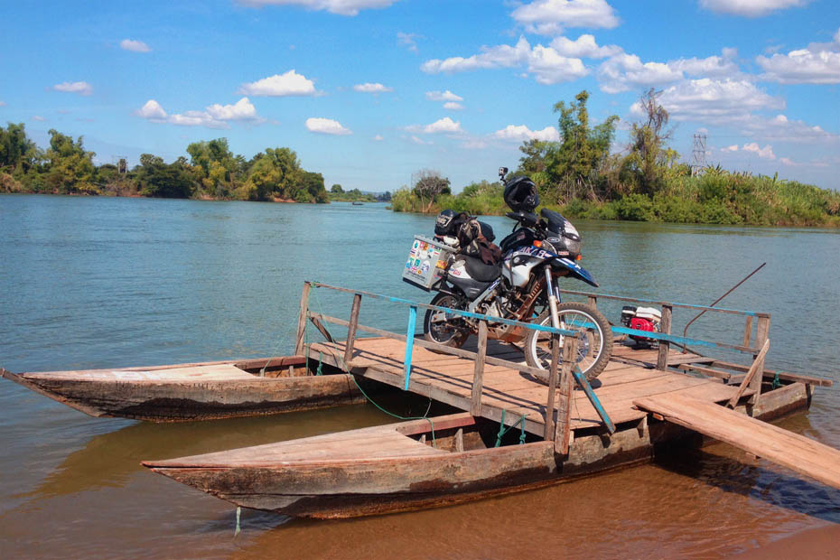 Don Det - 4000 islands, Laos   Transportation